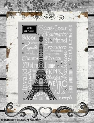 Paris ! BDN13 Isabelle Haccourt Vautier