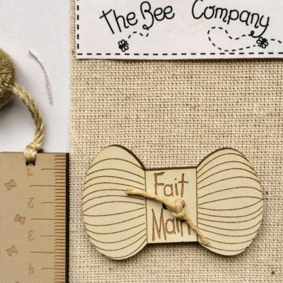 Pelote Beige Fait Main The Bee Company