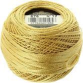 Pelote coton perle dmc n 12 savane n 676