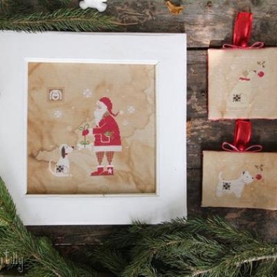 Santa and the Dog (Père Noël et le Chien) Madame Chantilly