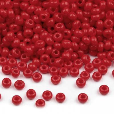 Perles de Rocailles Rouge 10/0 - 2,3 mm - 10g