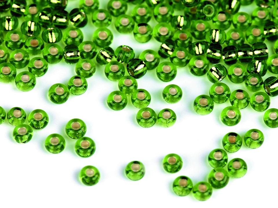 Perles de rocailles vertes 10 0 2 3 mm