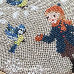 Perrette samouiloff blue tits chickadees 1 cross stitch 310x310