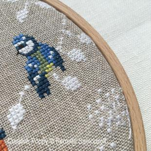Perrette samouiloff blue tits chickadees 3 cross stitch 310x310