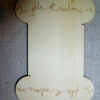 Cartonnette Gravée