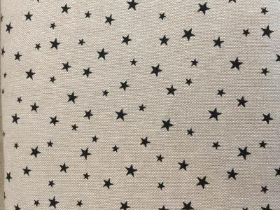 Tissus Patchwork Rico Petites Etoiles Naturel/noir18443.15.92