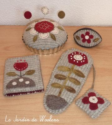 Petits accessoires 1 Le Jardin de Woolens