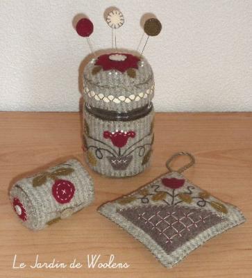 Petits accessoires 2 Le Jardin de Woolens