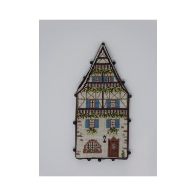 Pinkeep Maison Alsacienne  EB17  Création Evelyne Begey