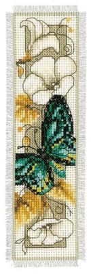 Kit marque-page Papillon et fleurs N°5 Vervco PN-0145351
