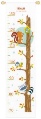 Kit d'une toise Animaux dans l'arbre Vervaco PN-0156325
