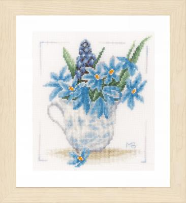 Kit Fleurs bleus Vervaco PN-0164069