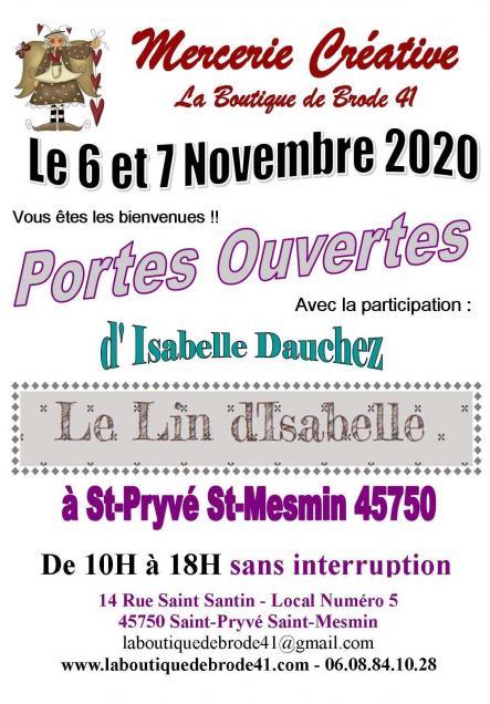 Portes ouvertes 6 et 7 novembre 2020 1