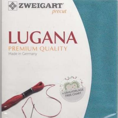 Precut Toile à Broder Zweigart Lugana 3835 10 Fils 6136 48x68 cm