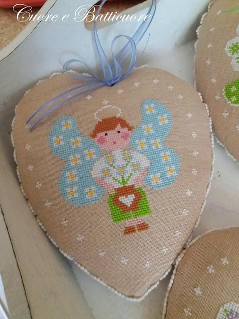 Primavera con gli angeli cuore e batticuore 4
