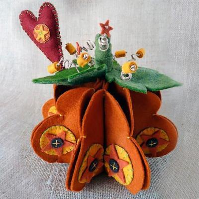 Kit feutrine Citrouille Pumpkin Spice The Cinnamon Patch