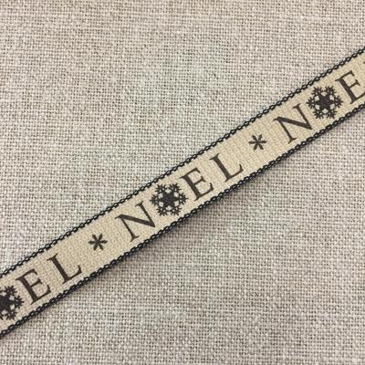 Ruban Noel Noir 15mm