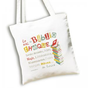 Sac de bibliotheque lilipoints