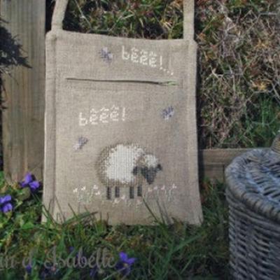Sac 'Mouton' Le Lin d'Isabelle