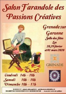 Salon farandole des passions creatives grenade 2020