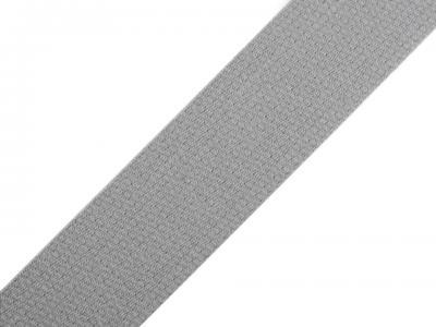 Sangle pour Sac en Coton Gris Perle 30 mm