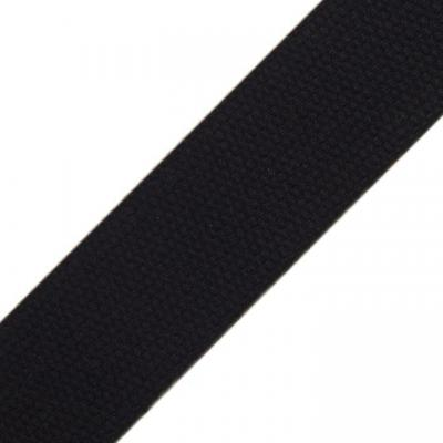 Sangle pour Sac en Coton Noir 30 mm