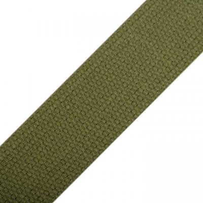 Sangle pour Sac en Coton Vert Kaki 30 mm