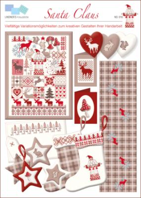 Santa Claus 016 Lindner's Kreuzstiche