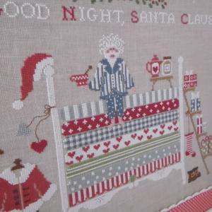 Santa claus on the pea 2