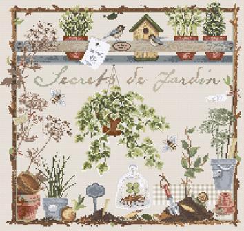 Secrets de Jardin 136 Madame la Fée