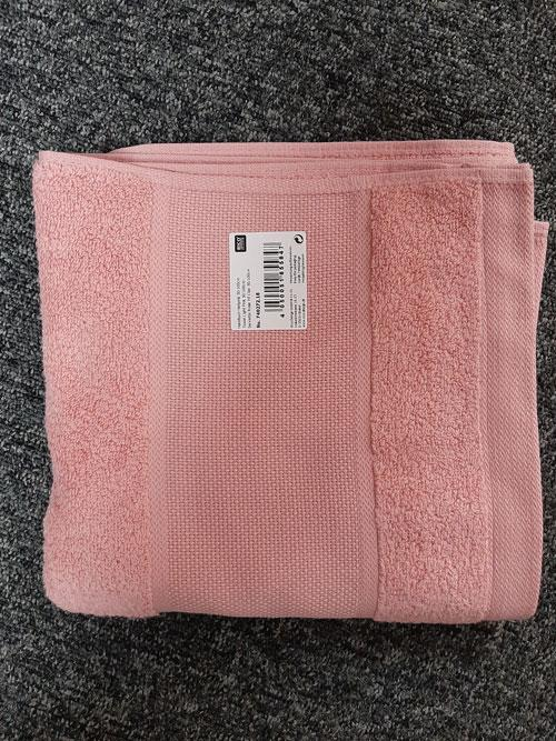 Serviette rose vif 50x100 r