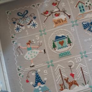 Shabby winter calendar2