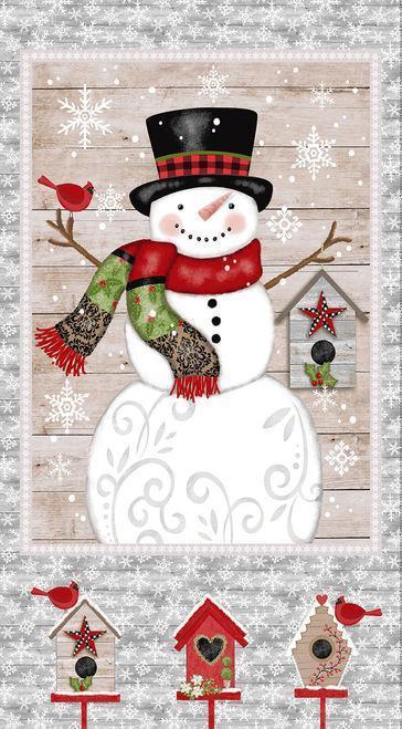 Snowplacelikehomegraysnowmanpanel4895 007