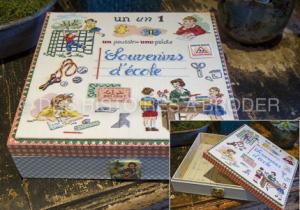 Souvenirs d'Ecole 'Fiche'