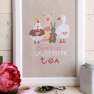 Spring Jasmine Tea  Madame Chantilly