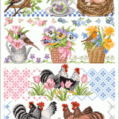 Springtime 096 Lindner's Kreuzstiche