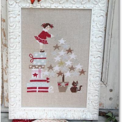 Star de Noël Madame Chantilly