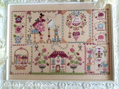 Stitching in Quilt Cuore e Batticuore