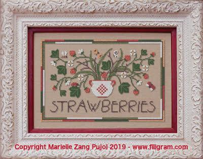 Strawberries f135 filigram