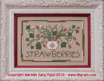 Strawberries f135 filigram