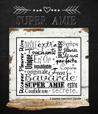 Super Amie BDN30 Isabelle Haccourt Vautier