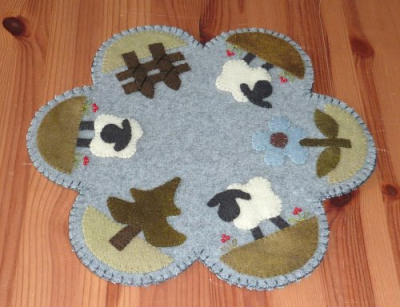 Table Mat Moutons Le Jardin de Woolens