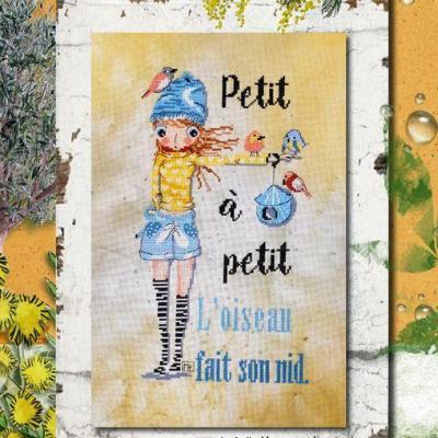 Petit à petit... TARLA05 Isabelle Haccourt Vautier