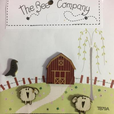 Etable et Moutons TB79A The Bee Company