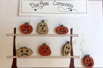Boutons citrouilles - TBHA8 The Bee Company