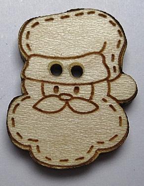Tête du Père Noël BLN015