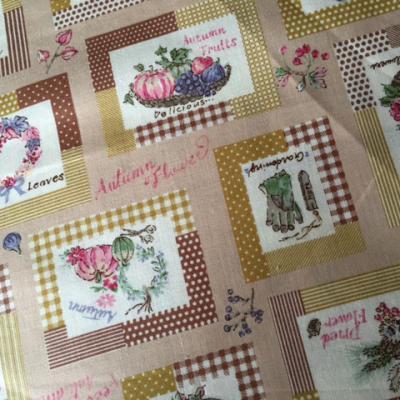 Tissu Yuwa Coton Autumn Beige