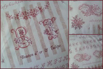 Tissu Alphabet 816670 Yuwa