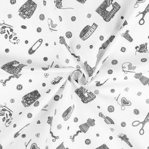 Tissu couture blanc 4