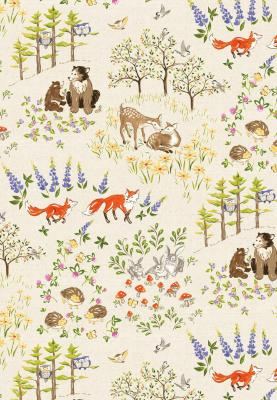 Tissu Patchwork Red Rosster Forest Frolic 471